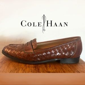 Cole Haan Women's Braided Italian Leather Loafers